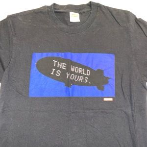 Supreme Blimp Tee (the world is yours)